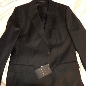 ZARA MAN - BLACK CHECKERED SUIT JACKET